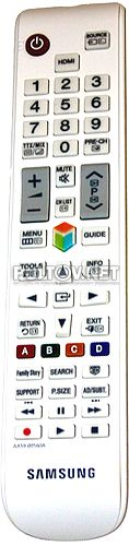 AA59-00560A, AA59-00563A оригинальный пульт для телевизора Samsung UE40ES6100 и других