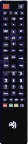 AB-COM CryptoBox 400HD пульт для цифрового спутникового ресивера