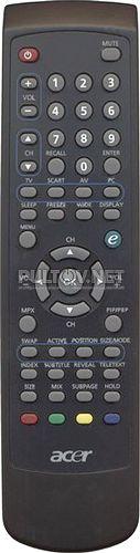 VZ.M1808.001 оригинальный пульт для телевизора Acer AT2602 и др.
