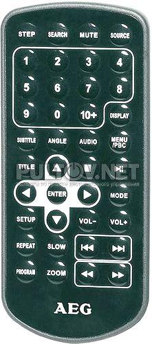 DVD 4552 пульт для портативного плеера AEG