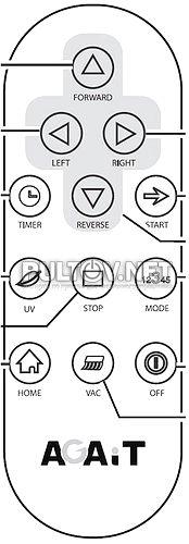 AGAiT EC-01 пульт для пылесоса