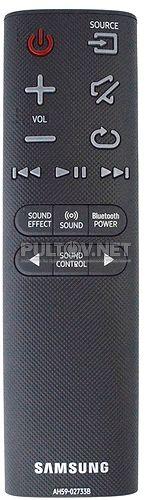 AH59-02733B оригинальный пульт для саундбара Samsung HW-J6000R и др.
