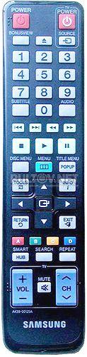 AK59-00125A пульт для Blu-ray-плеера Samsung BD-D5400K и других