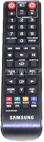 AK59-00149A пульт для Blu-ray-плеера SAMSUNG BD-E5300