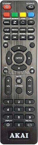 AKTV4023T пульт для телевизора Akai