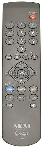 SPH3 GUESTLINK пульт для телевизора AKAI SP55A1 (гостиничный)