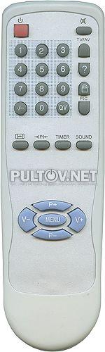 TV-5620-65, AKAI BT-0221A пульт для телевизора