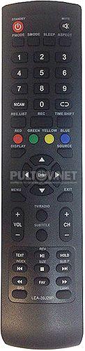 LEA-39J29P (YC52-001) пульт для телевизора Akai
