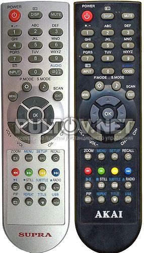 G6C52R (TVD34) , AKAI LTA-19N680HCP пульт для телевизора