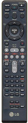 AKB72413303 пульт для музыкального центра LG RBD-154K и др.