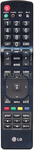 AKB72915207 , AKB72915202 оригинальный пульт для телевизора LG 37LD420 и других