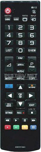 AKB73715601 неоригинальный пульт для телевизора LG 47LA667V и других (то есть для моделей 2013 года)