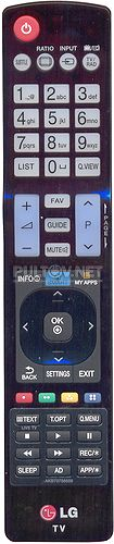 AKB73756559, AKB73756560 оригинальный пульт для телевизора LG 47LB580V