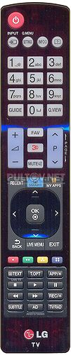 AKB73756565, AKB73756564, AKB73756593 оригинальный пульт для телевизора LG 32LB653V и других