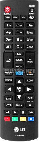 AKB74475404 оригинальный пульт для телевизора LG 42LF580V и других