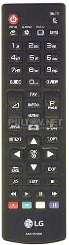 AKB74475481 оригинальный пульт для телевизора LG 32LF592U и других