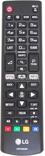 AKB75095308 оригинальный пульт для телевизора LG 43UJ635V и др.