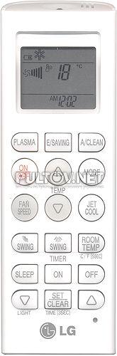 инструкция к пульту от кондиционера Lg акв73315607 - фото 3