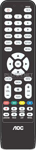 AOC LE43M3570/60 пульт для телевизора