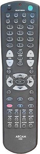 CR80 пультя для AV-процессора ARCAM AV8 и AV9
