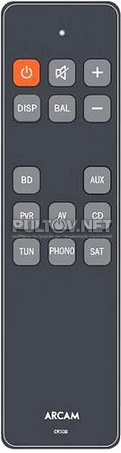 CR108 пульт для усилителя Arcam A19