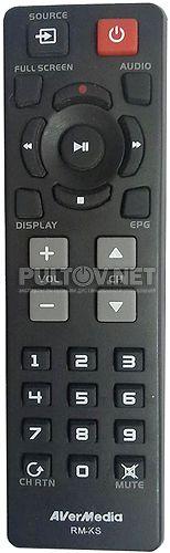 RM-KS оригинальный пульт для TV-тюнера AverTV HYBRID VOLAR HD (H830)