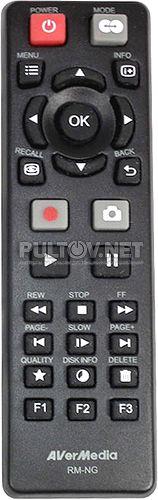 RM-NG пульт для устройства видеозахвата AVERMEDIA Game Capture HD