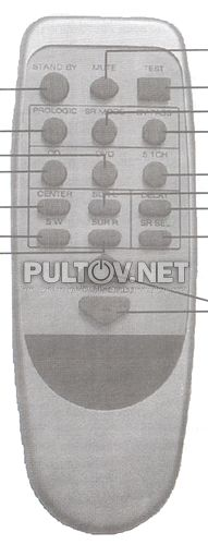 пульт для AVEST 30AC-109E