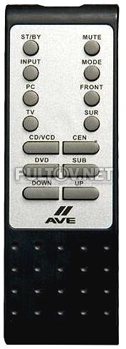 C140, C160, C180 пульт для акустики AVE