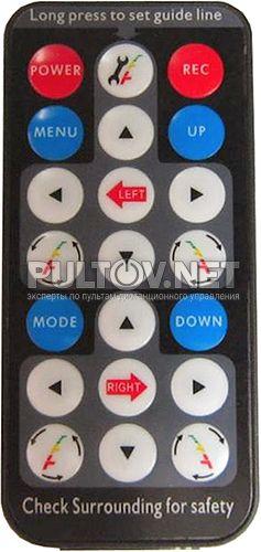 AVIS AVS0488DVR пульт для зеркала заднего вида со встроенным видеорегистратором (вариант 1)