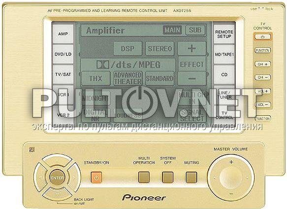 AXD7255 пульт для AV-усилителя PIONEER VSA-E08
