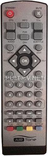 AirTone DB-2206, DNS DB-2205, Телецифра TLD-200 пульт для цифровой приставки