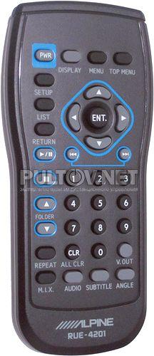 RUE-4201 пульт для автомагнитолы ALPINE DHA-S690