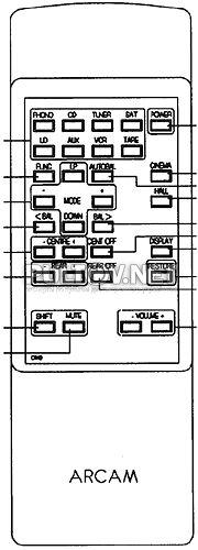 Xeta 2 пульт для стерео-ресивера Arcam