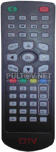 Avis AVS2000DVB пульт для автомобильного цифрового DVB-T тюнер