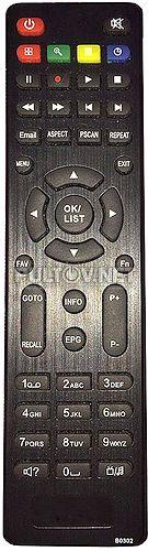B0302 пульт для цифрового ресивера Lumax DVT2-41103HD