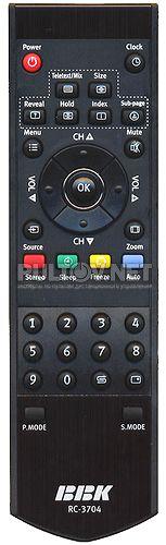 RC-3704 , BBK RC-3704, RC-2603, RC-Y35-OK пульт для телевизора LT-2210S, LT-2710S