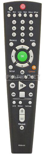 RC026-01R, RC026-018R пульт для DVD-плеера BBK