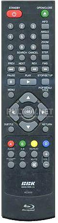 RC3050 пульт для Blu-ray-плеера BBK BD3050