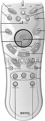 PB7110 пульт для проектора BenQ