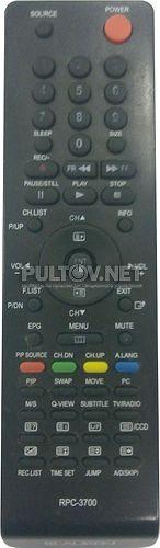 RPC-3700 пульт для телевизора BLAUREN COMFORT 32 и других