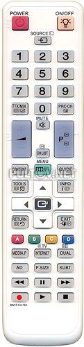 BN59-01078A НЕоригинальный пульт для телевизора Samsung LE-32C650 и других (белый)