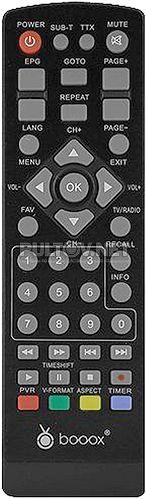 BOOOX T2 MINI пульт для DVB-T2-ресивера