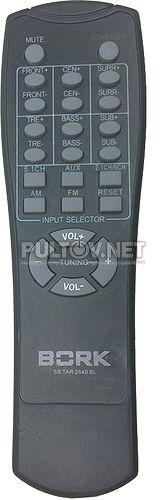 SS TAR 2640 BL пульт для акустики BORK (вариант 1)