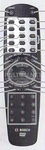 BOSCH DVP 07C пульт для автомагнитолы