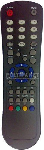 BOX 500 , BIGSAT BS-S67CR, AMIKO SSD-540 FTA пульт для спутникового ресивера