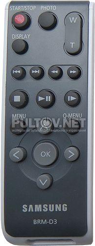 BRM-D3, BRM-D4, BRM-D7 пульт для видеокамеры Samsung VP-DC173 и др.