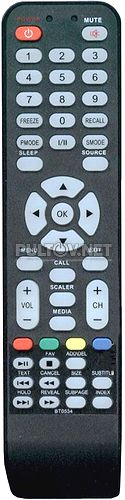 BT-0534B , AKAI LEA-19L14G пульт для телевизора SHIVAKI STV-22L6 и других