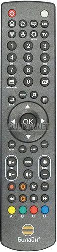 MARS-C5-PM, Билайн SO17030095, QC17C31W пульт для приставки цифрового телевидения