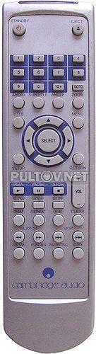 DVD50, DVD70, DVD86 пульт для DVD-плееров Cambridge Audio